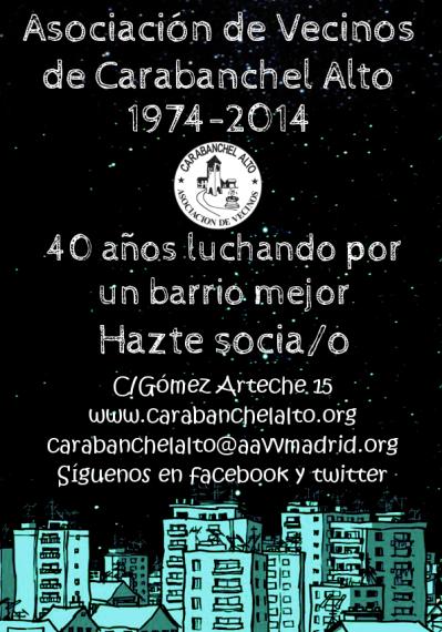 Campaña socios AAVV Carabanchel 5