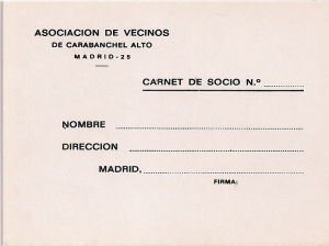 Carnet de la Asociación