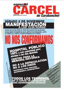 Portada revista Barrio Nov 2008 Especial Carcel