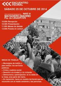 cartel III encuentro vecinal2014