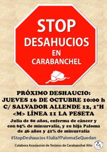 Stop Deshaucios Carabanchel
