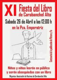 XI Fiesta del libro Carabanchel Alto