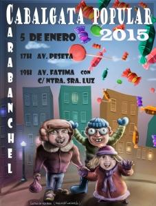 Cabalgata Popular Carabanchel 2015