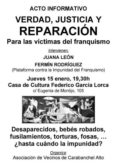 Acto 20150115 Victimas franquismo