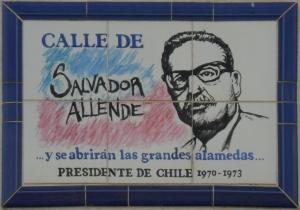 Placa Calle_de_Salvador_Allende