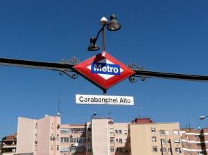 Metro Carabanchel Alto