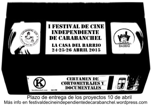 Cartel Festival de Cine Independiente de Carabanchel