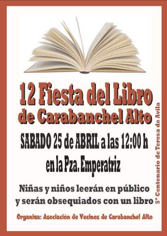 12 Fiesta del Libro Carabanchel Alto