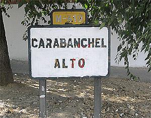 Placa Carabanchel Alto