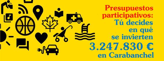 Presupuestos Participativos en Carabanchel