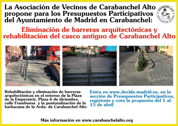 Propuesta PP Eliminación de barreras arquitectónicas