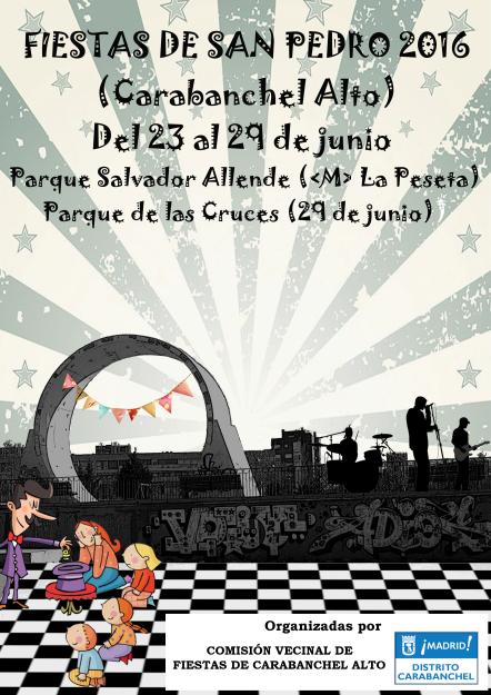 Cartel Fiestas de San Pedro 2016