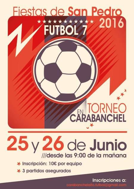 Fiestas de San Pedro 2016 Torneo fútbol 7