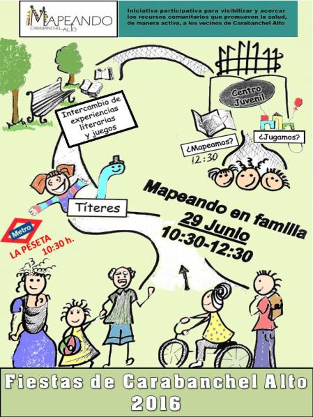 Mapeando Carabanchel Alto Fiestas de San Pedro 2016