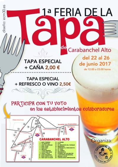 1ª Feria de la Tapa de Carabanchel Alto