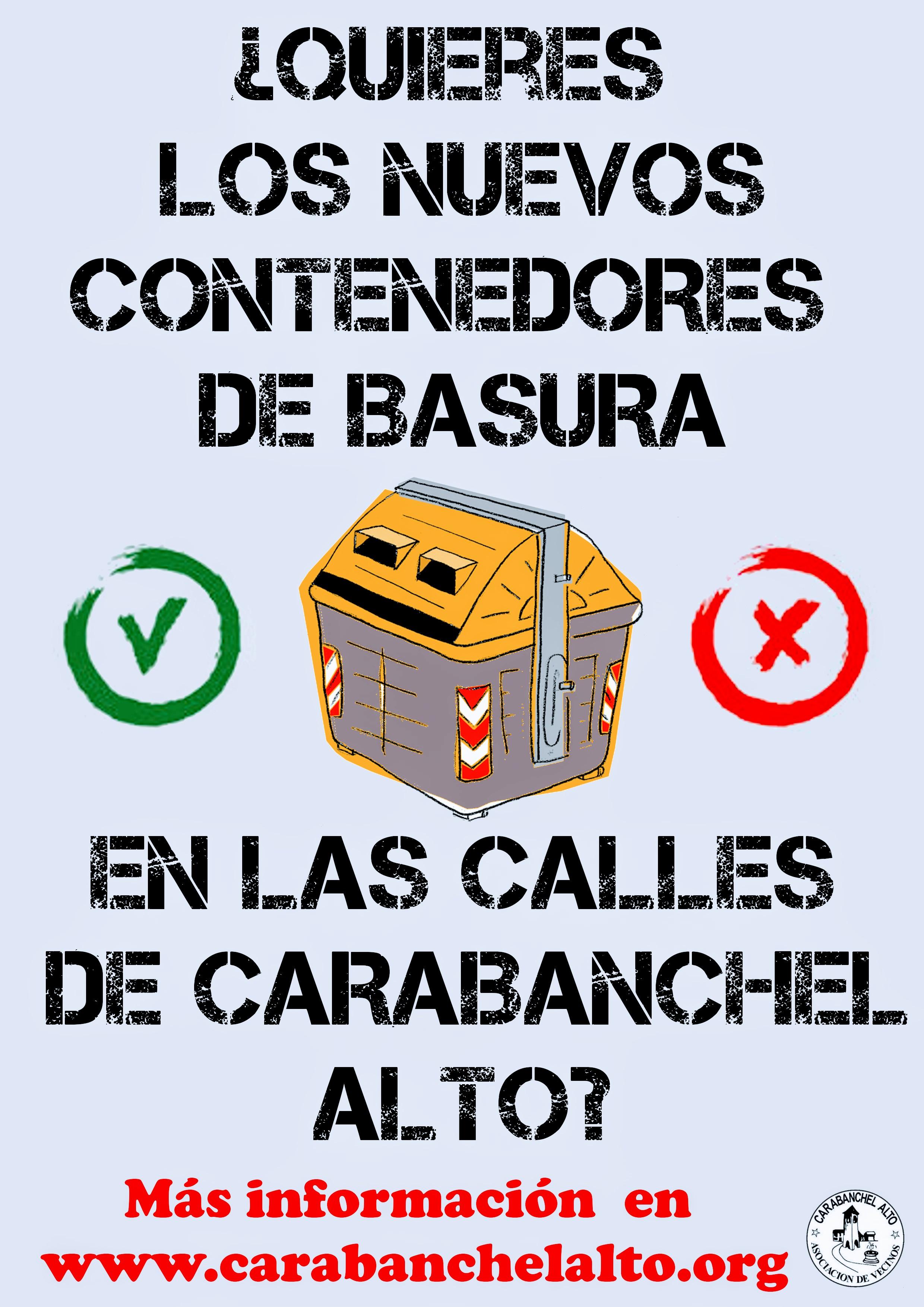 Consulta sobre el nuevo sistema de recogida de basuras en carabanchel alto zona antigua y pau - Pisos nuevos en carabanchel ...