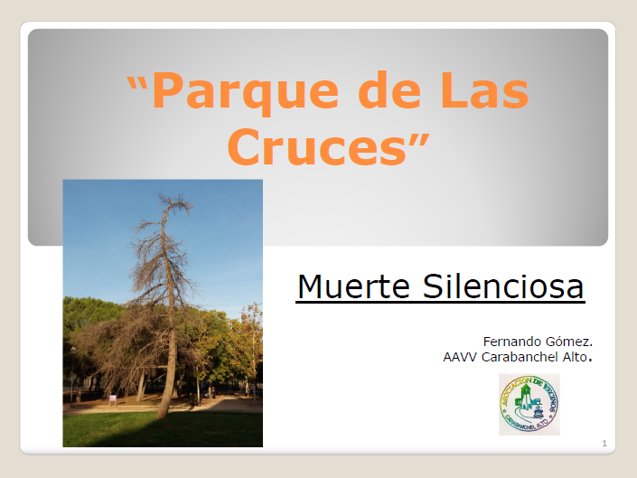 Informe Parque de las Cruces