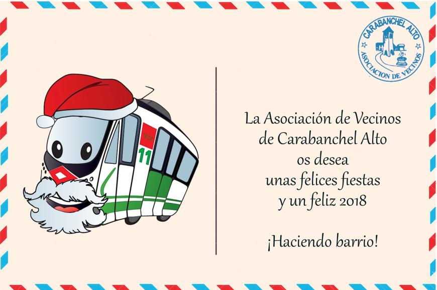 Postal navideña AAVV