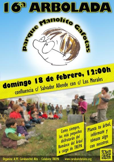 16 Arbolada en el Parque Manolito Gafotas el 18 de febrero