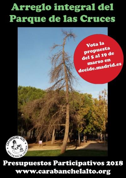 Propuesta Arreglo integral del Parque de las Cruces