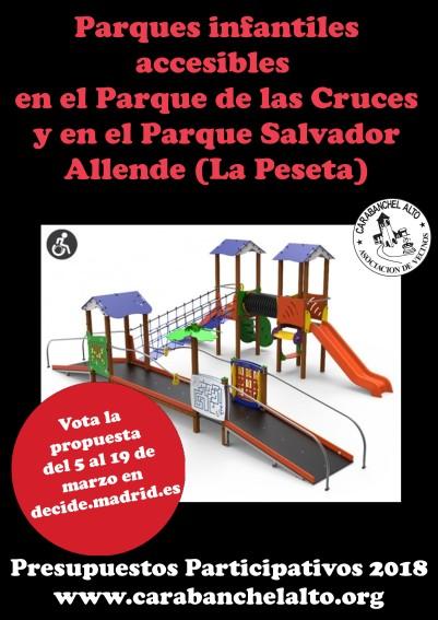 Propuesta Parques infantiles accesibles
