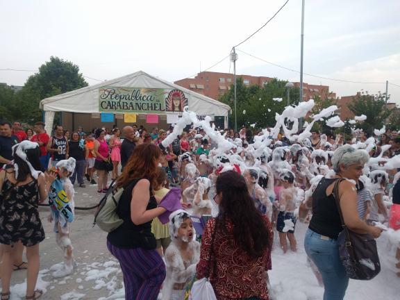 6. Fiesta de la espuma por los Bomberos - 25 de junio