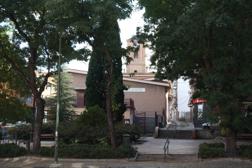 4. Plaza de la Emperatriz e Iglesia de San Pedro