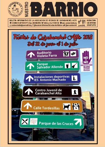 Revista Barrio nº 81 - Junio 2018