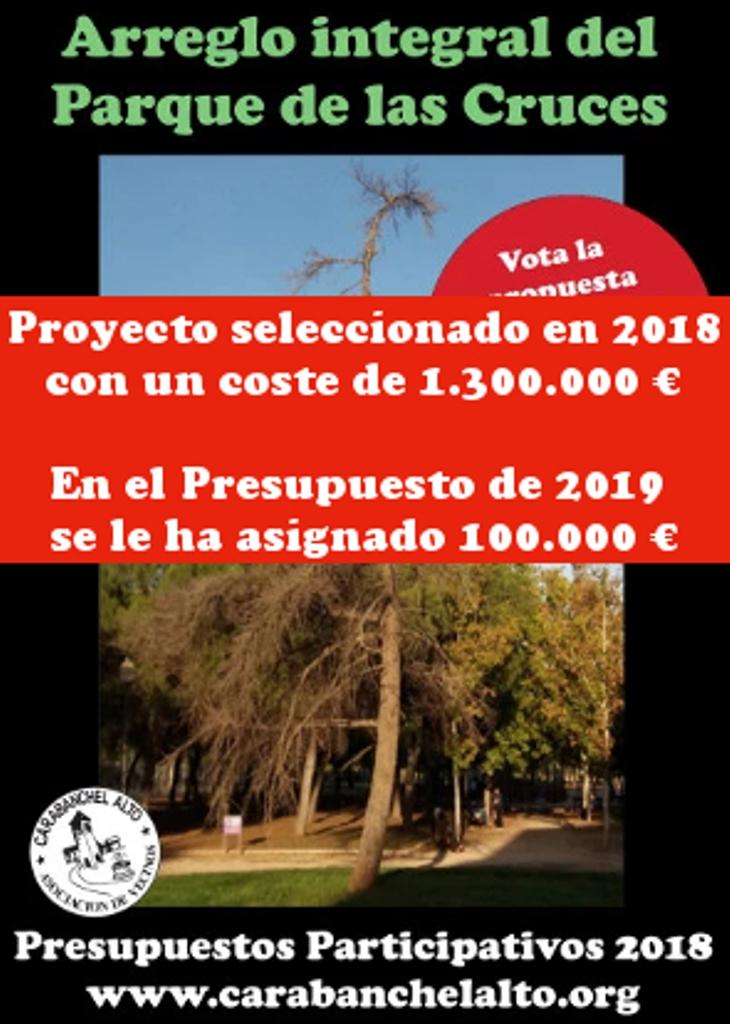 Parque de Las Cruces | Asociación Vecinal de Carabanchel Alto
