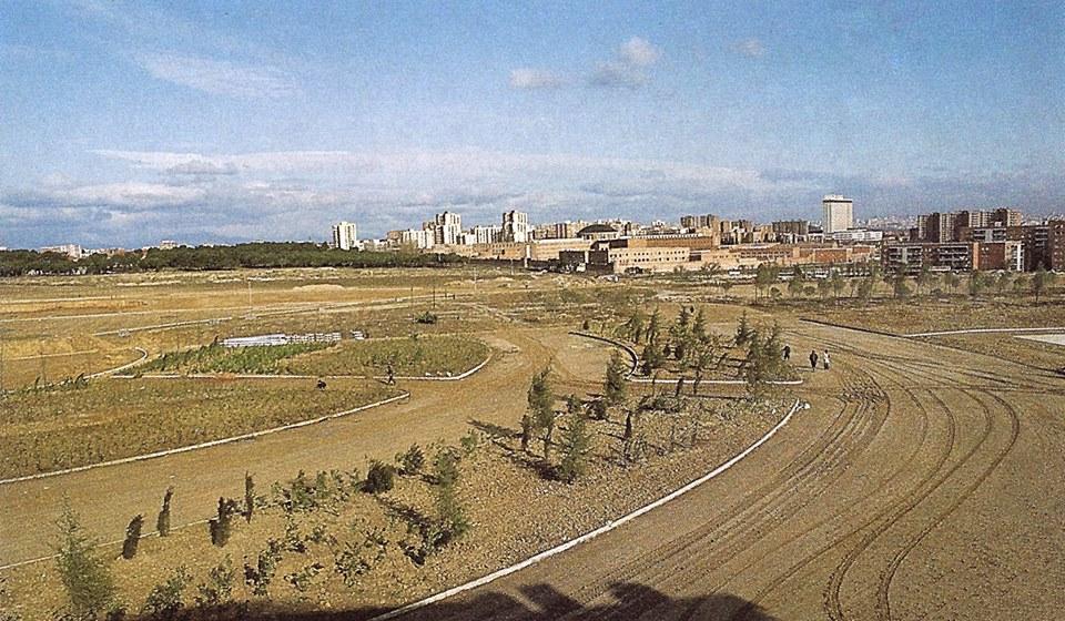 Parque de las Cruces (años 80)